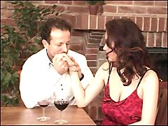 Big Boobs Stepmom Fucked Hard in a restaurant