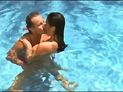 big boobs stepmom fucks the pool guy