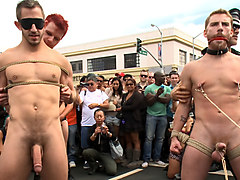 Naked and humiliated in front of thousands of people