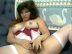 Classic retro vintage hairy pussy a