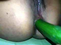 sri lanka girl fucked both holes cucumber