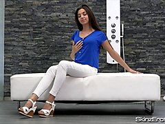diana dolce - young hungarian girl masturbates to orgasm