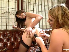 Amber Rayne and Aurora Snow
