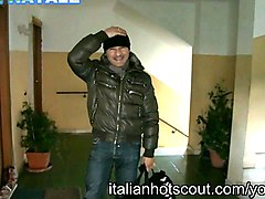 merry christmas with italian hot scout - italian milf