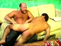 Boy Spanked By Angry Hairy Dad