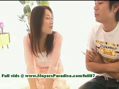 Mai Uzuki Innocent Busty Chinese Chick Gets Nipples Licked And Kissing