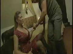 Classy milf can handle a hard cock