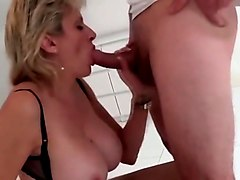 world nylons lady nylons blow not her husband