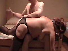 This time fifi get some soft barehand spanking.