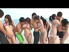 Japanese Sex Beach Party
