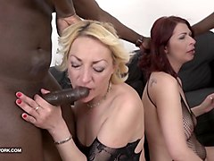 granny mature group sex pussy fuck interracial gangbang