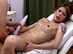 Japanese tgirl massage 2