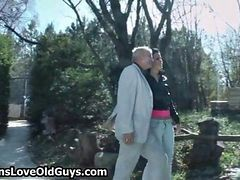 Horny Grandpa Loves To Have Sex