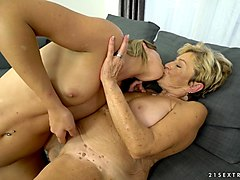 malya is a mature woman seduced by lara west for a lesbian game