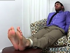 male to suck toes movie gay chase lachance tied up, gagged &