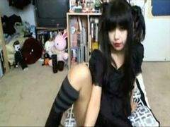 Cute  Gothic Asian Webcam