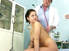 Monika pussy speculum gyno exam at perverted..
