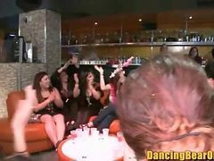 Girls Go Wild For Dancing Black Bear