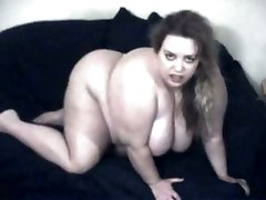 Bbw Doggy Creampie Masturbation