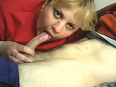 Daring Romanian Cougar Gives Excellent Blowjob At Request Of Her Hubby
