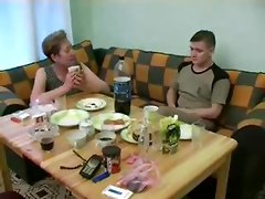 Russian Granny And Boy 102