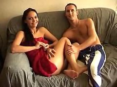 Danish Couple Fucking InTheir Living Room (..