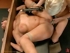 Big Tits And Ass Gets Punished And Anal Sex Bondage