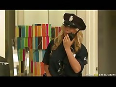 Big Titted Corrupt Cop Madison Ivy Harasses Violates A Citizen In Need