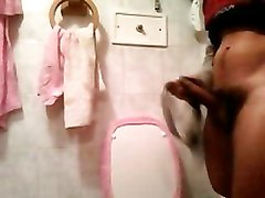 I Cum On Neighbour&039;s Loincloth In Her Bathroom 3
