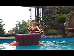 Pool Party Cum Anal Brunch