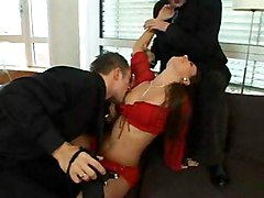 Claudia Rossi Gets Double Penetrated