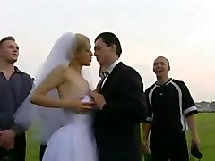 All The Guests Get To Fuck The Bride