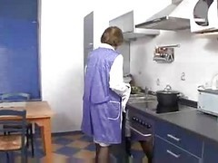 Grandma Martha In The Kitchen