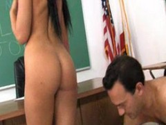 Horny Teen Madison Gets Her Pussy Licked And Fucked By Her Professor
